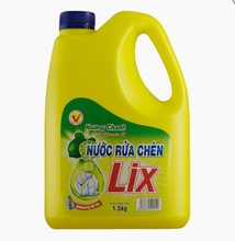 Lix lemon Flavor Dish washing Liquid 1.5kg/ wholesale dish wash