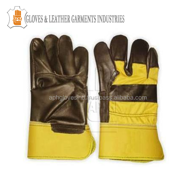 Cheap Price Furniture Leather Work Gloves Construction Safety