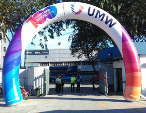 Outdoor Entrance Inflatable Arch with full color printing