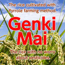 Genki-Mai, Pyrrole Rice, The rice cultivated with Pyrrole farming method.