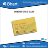 Enhanced Quality Embossed PVC Gold Card for Visiting Card