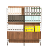EZBO Office Furniture File Cabinet With Adjustable Shelving Wooden 6 feet