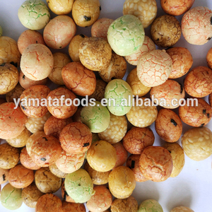multi color flour coated peanuts