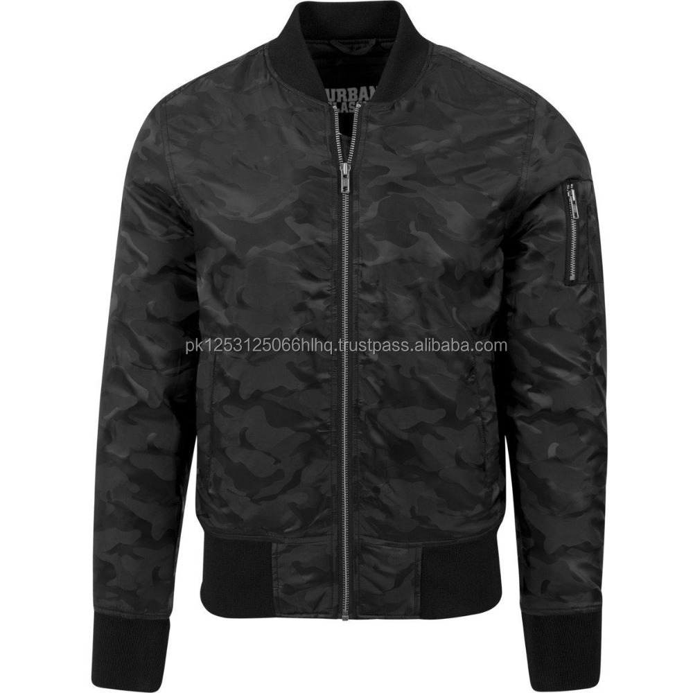 MA-1 SLIM FIT REVERSIBLE MILITARY FLIGHT BOMBER JACKET