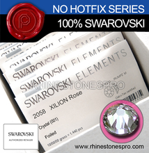 100% Genuine SWAROVSKI Elements Crystal in Bulk Wholesales Flat Back Non Hotfix Rhinestones