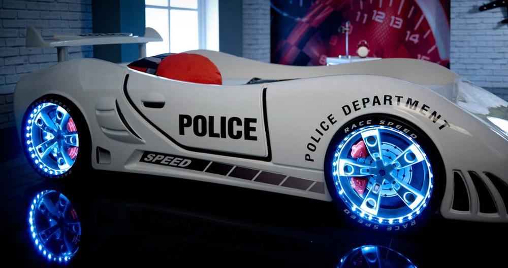 Police Car Beds - Kids Rooms - SUPERCARBEDS