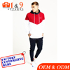 2017 Fashion sports wear men custom crop hoodies top french terry