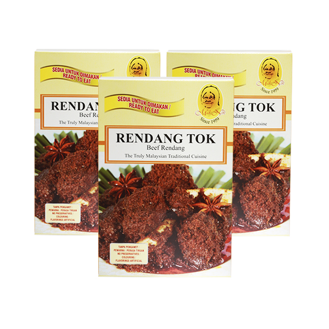Mak Nik Beef Rendang Tok The Truly Malaysian Traditional Cuisine