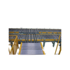 Automatic horizontal inclined roller conveyor automatic production line