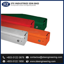High Quality colored network Cable Trunking Aluminum perforated cable tray