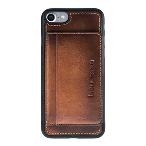 luxury ultra slim stand type genuine leather cases for iPhone 7