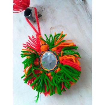 Banjara Boho look Indian Bag Charm Handmade Bad Decor