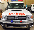 Ambulance Toyota VDJ78 4X4 -UAE