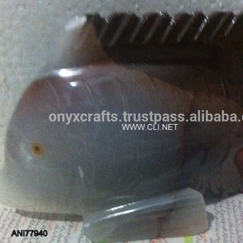 Onyx Fish Figurine in Low Price