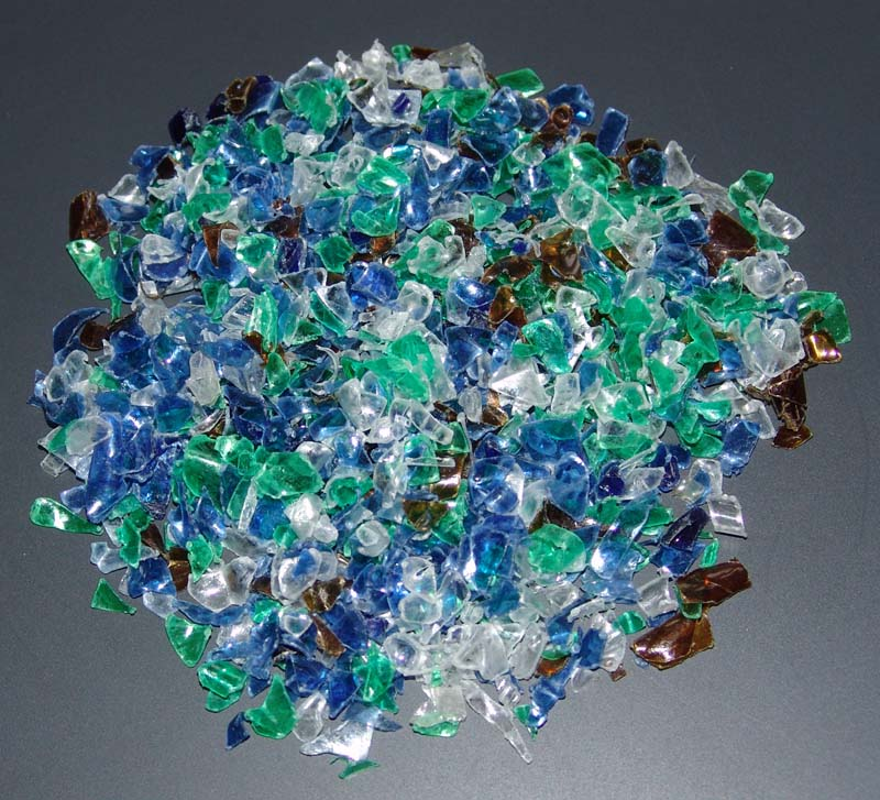 PET bottle flakes washing and recycling