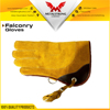Falconry Glove Double Skinned Suede Leather 2 Layers All Sizes