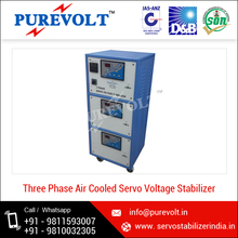 Reliable Solid State Control Circuit Servo Voltage Stabilizer