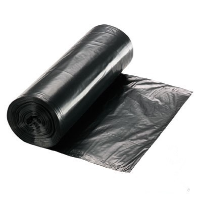Cheap price HDPE Black Garbage Bags / Trash Bags on roll
