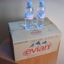 Evian Mineral Water 330ml France Origin