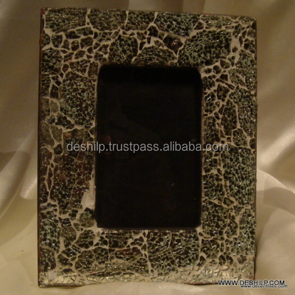 MOSAIC HANDMADE GLASS PHOTO FRAME