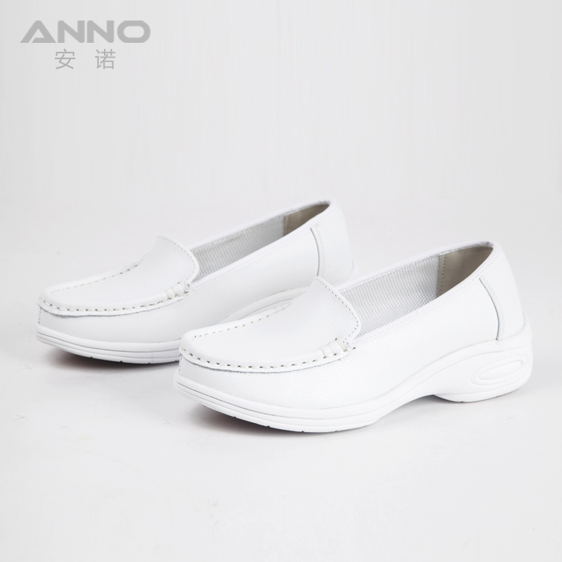 2018 NEW coming light weight anti-slip white women health care work shoes