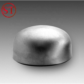 ANSI b16.9 carbon steel pipe fitting cap  from Shengtian