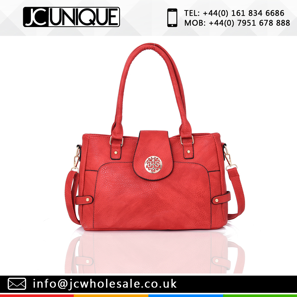 Beatrice tote bag red color
