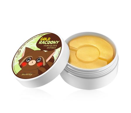 SECRECT KEY _GOLD RACOONY EYE GEL PATCH_ KOREAN COSMETICS