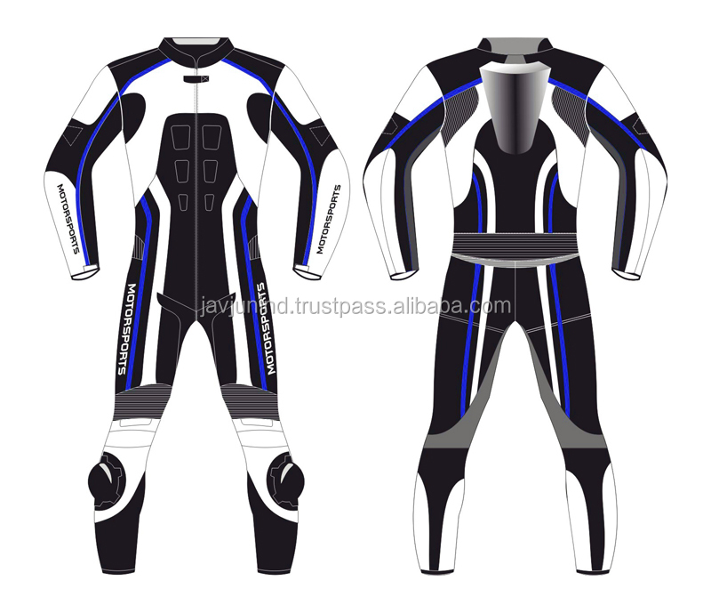 leather motorcycle pilot suit motor bike branded suit