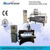 3 axis/4axis/5axis wood cutting and engraving machine,two use flat and cylinder cnc router machine