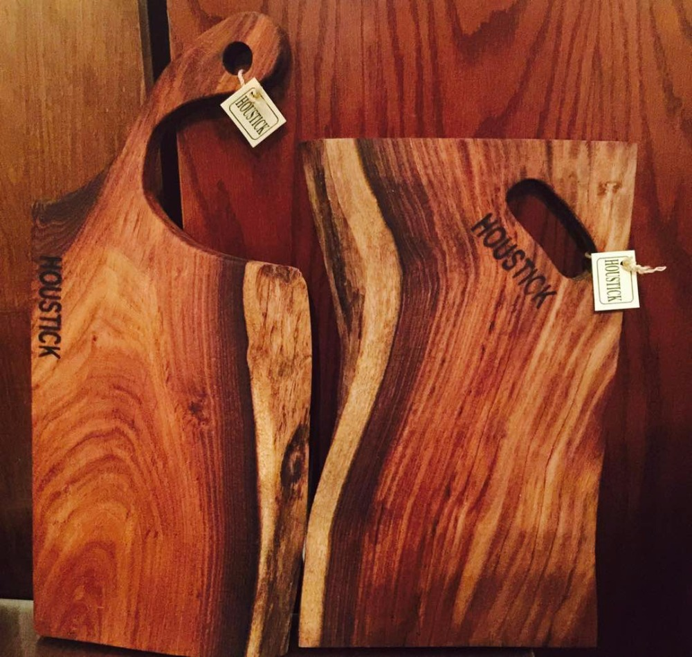 Wooden Cutting board, Hand carved wood chopping block, Eco Friendly,