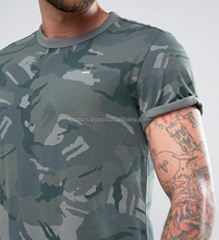 Comfortable and breathable army mens camo t-shirt