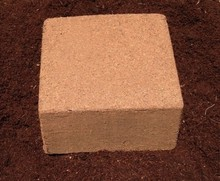 ISO 9001:2015 Quality Processed Coco Peat 5 KG Blocks - A Grade