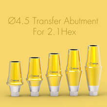 D4.5 Dental Implant Transfer Abutment / Transfer Abutment / Compatible with Compatible for OSSTEM 2.1HEX