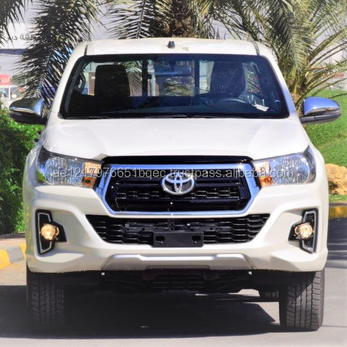 CHEAP 2018 HILUX DOUBLE CABIN PICKUP 2.7L PETROL 4WD AUTOMATIC TRANSMISSION PLATINUM FOR SALE IN DUBAI