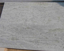 Low price high quality Indian Kashmir white granite light white clean color wave sand granite