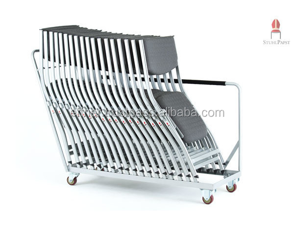 Fle.xi Transportwagen - Transport trolley for folding chairs, Practical chair car for Fle.xi chairs