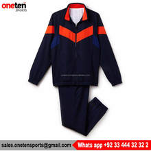 Navy/Orange Tracksuit - One Ten Sports Soccer Wear