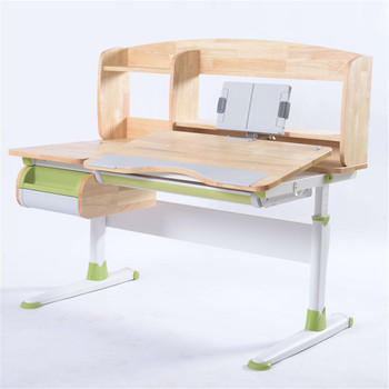GMYD Height Adjustable Study Desk Kids Study Table