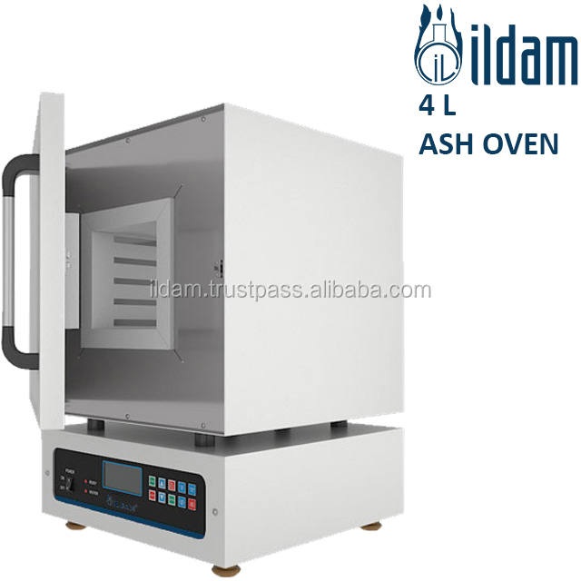 High Quality Best Price 4 L Ash Oven ILD-FKU-4 Electrostatic Powder Coated Steel From Turkey