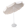 TOP QUALITY Acrylic Sun Beach Umbrella With apron