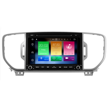 Hifimax Android 8.0 Car Video For KIA Sportage 2016 Touch Screen Multimedia Radio DVD GPS Navigation Optional Rearview Camera