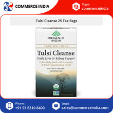 Healthy Organic India Tea Tulsi Cleanse/Basil Tea Available at Bulk Price