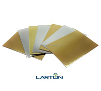 Double/Two Side Gold/Silver Metallized Cardboard Sheet