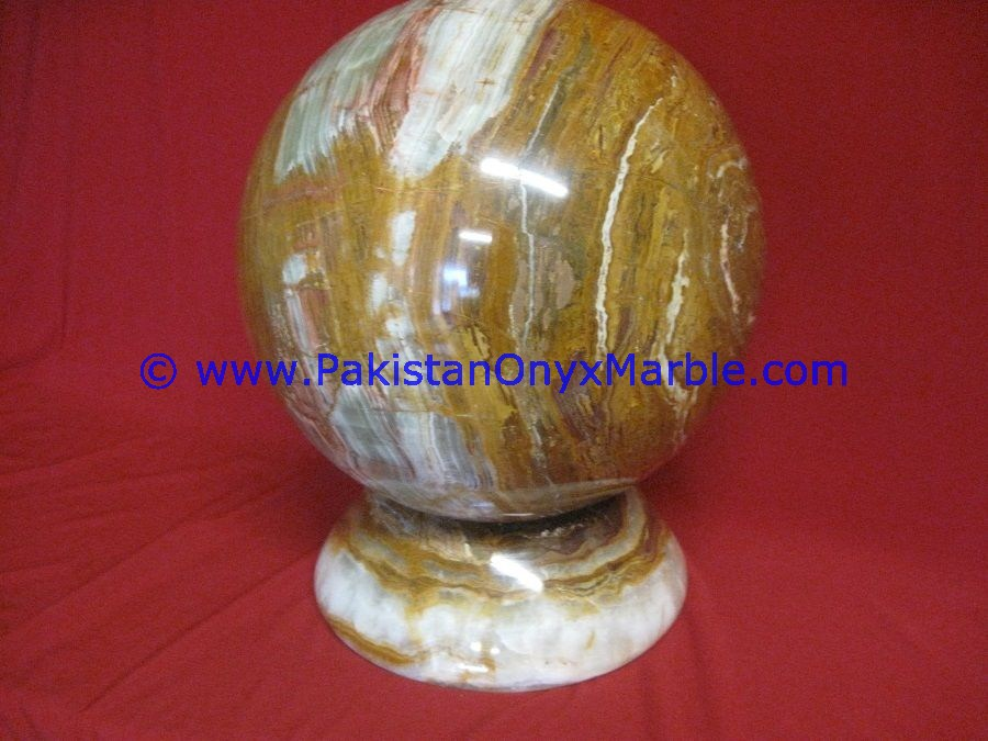 BEST SELLING MULTI BROWN ONYX SPHERE ROUND BALL ROOM HOME DECOR