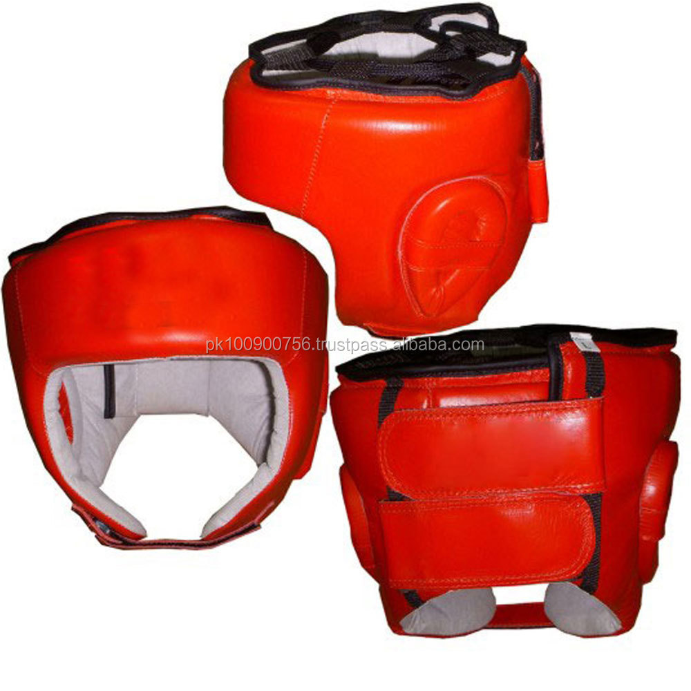 Leather Boxing Head Guard /Head Protection/High Quality HeadGear