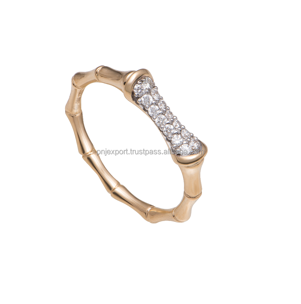 14k gold jewelry wholesale real diamond ring jewelry- PNJ brand - Vietnam jewelry manufacturer