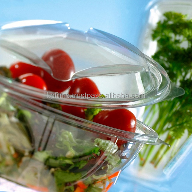 Pentafood Transparent PET Sheet for Vacuum Forming and Food Trays