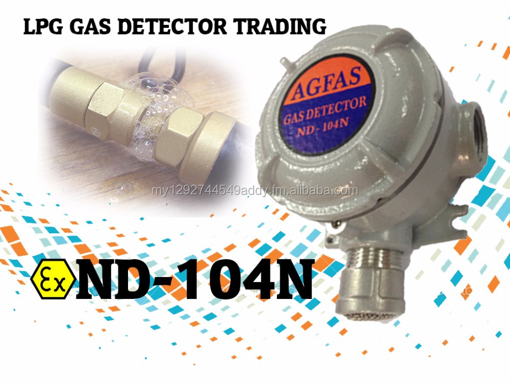 GAS DETECTOR EXPLOSION PROOF (ND-104N)