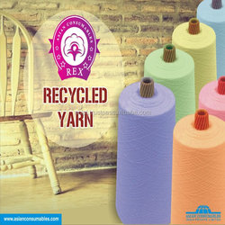 Best quality Recycled yarn exporters from india